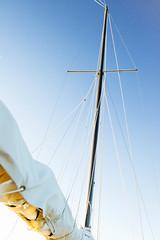 Fasten the Mainsail (Jethro_aqualung) Tags: umbria italy italia outdoor vela lago trasimeno randa sailboat lake d3100 nikon