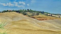 Toscana Finca (gerard eder) Tags: world travel reise viajes europa europe italy italien italia toscana tuscany landscape landschaft paisajes finca cottage cypresses hills hügellandschaft