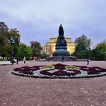 Ostrovsky Platz mit Alexandrinsky Theater
