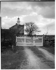 Högby Lighthouse 4x5 - Kodak Tmax 100 (magnus.joensson) Tags: sweden swedish öland högby lighthouse linhof technikardan 45 fujinon cmw 125mm kodak tmax 100 orangefilter rodinal 150 thetacomethod imacon 4x5 large format