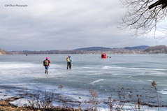 Ice Fishing On Canadarago Lake (Oram24) Tags: challengegamewinner