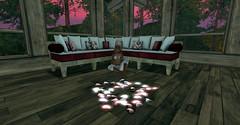 Shades of Pink (Jynx Rae) Tags: evilbunnyproductions nyne adorablystrangewares homeandgarden hearts valentines lovelace lushink truthordare toda2