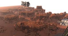 Mars (Eridanus Industries) Tags: mars slmc sl planet scifi science fiction combat eridanus alliance navy second life