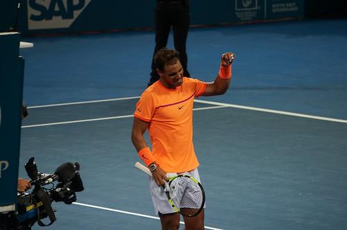 Rafael Nadal Pumped After Victory