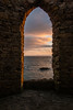 Looking out, Lady's Tower, Elie (Briantc) Tags: scotland fife elie eliepoint sunset ladystower