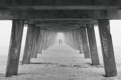 Beneath the pier (jecht360) Tags: tybee savannah georgia tybeeisland fog coast ocean water beach pier ga