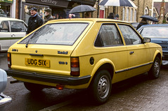 Vintage Stony 2017 - 1981 Vauxhall Astra 1.3L - UDG 51X (Trackside70) Tags: vintagestony 2017 stonystratford miltonkeynes uk classiccars rain cars autos vintage car show newyearsday nikond300s nikkor35mmf18