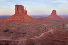 Monument Valley evening (mfeingol) Tags: arizona navajo monumentvalley navajotribalpark evening