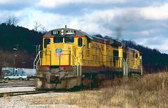 UP B23-7 151 (Chuck Zeiler) Tags: up b237 151 railroad ge locomotive cotter chz