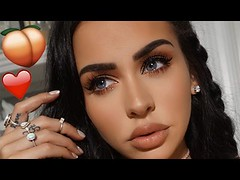 PEACHY VALENTINE'S DAY MAKEUP 2017 | Carli Bybel (Download Youtube Videos Online) Tags: peachy valentines day makeup 2017 | carli bybel