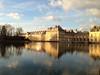 Reflets (JDAMI) Tags: château fontainebleau reflets eau ciel pierre seineetmarne 77 france patrimoine