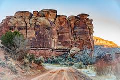 Corral Rock (HLazyJ - Susan Humphrey) Tags: colorado coloradolandscape canon canonllens escalantecanyon desert southwest
