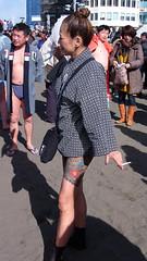 #1004 tattooed lady (Nemo's great uncle) Tags: tattoo 刺青 people enoshima 江ノ島 寒中神輿錬成大会 katasekaigan 片瀬海岸 片瀬東の浜 fujisawa 藤沢市 kanagawaprefecture 神奈川県