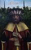 Gent, Oost-Vlaanderen, Museum voor Schone Kunsten, master of the family of St. Anne, family of St. Anne, right panel, detail (groenling) Tags: gent ghent gand vlaanderen oostvlaanderen flanders belgië belgium belgique be museumvoorschonekunsten msk masterofthefamilyofstanne meester family familie saint heilige anne anna drieluik triptych paint painting schilderij alphæus scroll rol