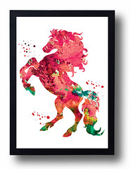 Red Horse Watercolor Print Horse painting Ferrari red car poster Boy room decor Horse illustration Wild Animal Watercolor Painting Man gift (bogiartprint) Tags: artandcollectibles prints giclee watercolor nurseryart animalwatercolor animalillustration animalpainting horsewatercolor watercolorpainting horseposter horseillustration carposter ferrari horsepainting boygift