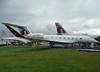 A7-CGC Gulfstream 650 (SteveDHall) Tags: aircraft airport aviation airfield aerodrome aeroplane airplane airshow 2016 farnborough farnboroughairshow display a7cgc gulfstream g650 gulfstream650 glf6 qtr qr qatar biz bizjet businessjet privatejet executivejet gulf gulf6 gulf650