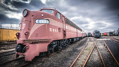DSC02176 (jebster2000) Tags: train t vintage history museum railroad tracks hdr sonya7rii zeiss batis