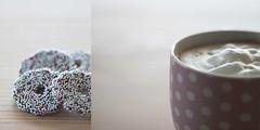 18/365 chocolate & coffee (SarahLaBu) Tags: chocolate schokolade coffee kaffee diptych diptychon 365the2017edition 3652017 day18365 18jan17 canoneos500d canonrebelt1i