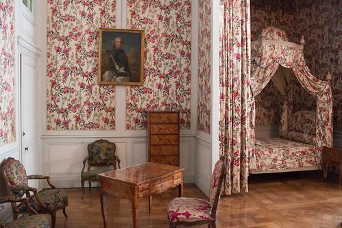 """La chambre """"aux lauriers"""", Château de Chambord"""