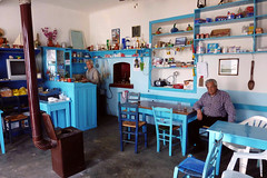 Blue haven (egotoagrimi) Tags: ikaria aegean greece ικαρία villagelife longevity plagia kafeneio april café πλαγιά καφενείο coffee beer farmers