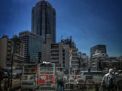 Backs of men (Kito K (fxkito2)) Tags: hdr japan tokyo building iphone7 cityscape architecture iphoneography candid
