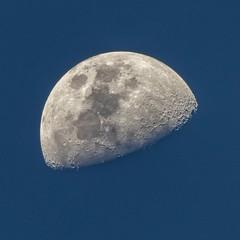 Shocked moon (Werner Olsen) Tags: nikon b700 moon lunar shocked