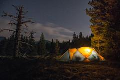 Terrain plat (Samuel Raison) Tags: nuit night tente tent mountainhardwear mountainhardweartrango31 montagne moutain bivouac nikon nikond800