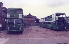 Eleventh Hour (reynardbizzar) Tags: southern vectis shanklin depot bristol vr ecw leyland olympian carter avenue brook road 1984 nbc national bus company