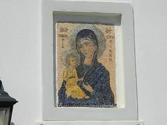 icon of Panagia (Bichoes) Tags: nisyros dodekanse aegean mandraki spiliani monastery knights castle greece