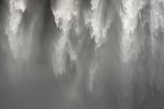 The force (George Pancescu) Tags: d810 70200mm iceland skógafoss skogar winter waterfall cascade mood texture water