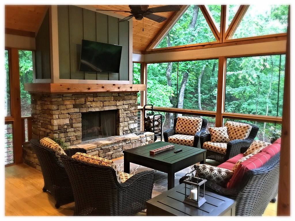 Monessen SB50 Outdoor Wood Burning Fireplace, Ooltewah, Tn.