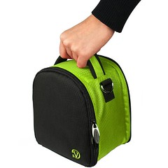 Travel Shoulder Bag Carrying Case (Green) For Nikon Coolpix L120, V1, P100, P500, P7000, P7100, D3800, D800 Digital SLR DSLR Professional Camera (ShoppingSecurelyOnline) Tags: v1 p500 p100 p7000 p7100 d3800 d800digitalslrdslrprofessionalcamera travelshoulderbagcarryingcasegreenfornikoncoolpixl120