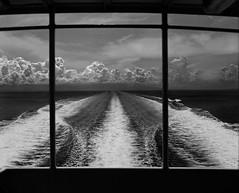 5 Hour View (Lig Ynnek) Tags: ocean 120 film boat wake philippines