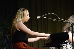 Emily McShane on keyboards