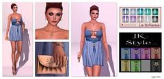 299 - JK Style @ Designer Circle (Sannita_Cortes) Tags: woman fashion female dress jewellery sl secondlife virtual styles nailpolish ikon laboheme entwined wedges virtualworld slink virtualfashion wltb amacci glamaffair designercircle welovetoblog jkstyle mienposes glowdesings