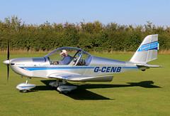 G-CENB (GH@BHD) Tags: eurostar aircraft aviation microlight ev97 sywell evektoraerotechnik sywellairfield evektor teameurostar laarally gcenb laarally2015