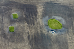 Construction Of A Golf Course (Aerial Photography) Tags: by golf landscape an aerial baustelle constructionsite landschaft golfplatz abstrakt luftbild luftaufnahme mfr quadrate colmberg fotoklausleidorfwwwleidorfde 01102015 5dsr08597