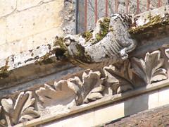 20140717 Noyon Oise - Cathédrale Notre-Dame-087 (anhndee) Tags: france church frankreich gargoyle église eglise gargouille picardie noyon oise
