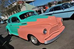 2015 Grand National Roadster Show (USautos98) Tags: 1948 chevrolet fleetline hotrod streetrod custom scalloppaint chevy