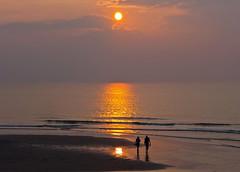 Calmness (dolorix) Tags: sunset sea holland netherlands meer sonnenuntergang nordsee calmness northsee callantsoog dolorix