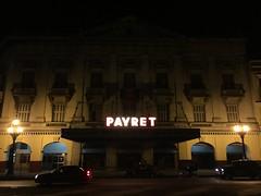 Teatro Payret (jericl cat) Tags: red green sign night movie marquee teatro theater neon nightshot theatre havana cuba vieja restored habana payret paseodemartí