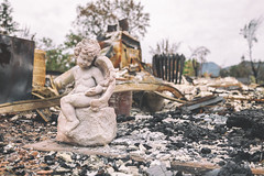 After the Fire (Pixelina Photography) Tags: california abandoned broken statue angel canon ceramic fire destruction debris forgotten 5d westcoast destroyed deserted burned rubble lakecounty charred middleton gardenstatue californiafire valleyfire abandonedcalifornia abandonedamerica canoneos5dmarkll 5dmarkll eos5dmarkll autopsyofamerica pixelina rachelescoto pixelinaphotography destroyedandabandoned abandonedbutloved forgottenbutloved lakecountyfire