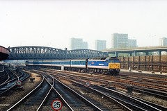 """47587 """"Ruskin College Oxford"""" (Sparegang) Tags: paddington sulzer 474 class47 networksoutheast brushtype4 47587"""