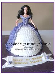 princess fineone (The Whole Cake and Caboodle ( lisa )) Tags: cakes cake barbie whangarei birthdaycakes caboodle thewholecakeandcaboodle birthdaycakeswhangarei