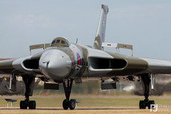 Avro Vulcan B.2 XH558 (philrdjones) Tags: england unitedkingdom july airshow b2 vulcan avro limington yeo royalnavy vl 2015 vbomber airday yeovilton egdy rnas xh558 spiritofgreatbritain