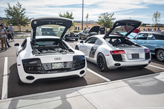 Matching (Hunter J. G. Frim Photography) Tags: white black silver colorado wing german plus carbon audi coupe supercar v8 awd v10 r8 audir8 carsandcoffee audir8v10 audir8v10plus vehiclevault