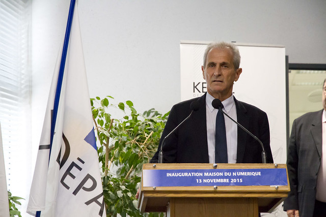 Inauguration Maison du Numérique et de l'Innovation