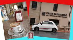 Coffee500, taste of San Marino (petarslo) Tags: italy coffee san fiat di 500 marino cassa risparmio coffee500