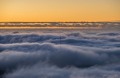 Sehrohr Torfhausantenne (Patrice von Collani) Tags: sunset sky nature weather fog canon germany landscape deutschland evening abend nationalpark foto fotografie sonnenuntergang nebel patrice natur foggy himmel adapter tele inversion alpha landschaft sunsetlight ef harz wetter telezoom abendstimmung 70300 norddeutschland northgermany abends nebelmeer alpha7 mittelgebirge teleobjektiv nationalparkharz nebelstimmung sonyalpha7 harzgebirge canonef70300mmf456lisusm canon70300lisusm canonef70300lisusm arsmagicaluminis ilce7 patricevoncollani voncollani