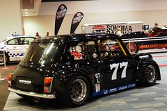 Mini Cooper John Huffaker #77 4 (Jack Snell - Thanks for over 26 Million Views) Tags: sf auto show ca wallpaper cars wall vintage john paper san francisco mini center international cooper collectible moscone 77 57th huffaker excotic jacksnell707 jacksnell